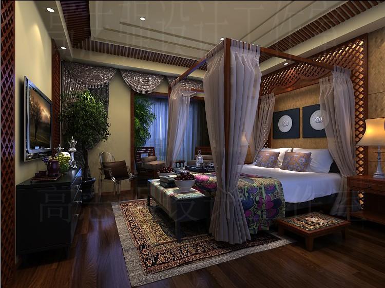 欧式大气卧室装修
